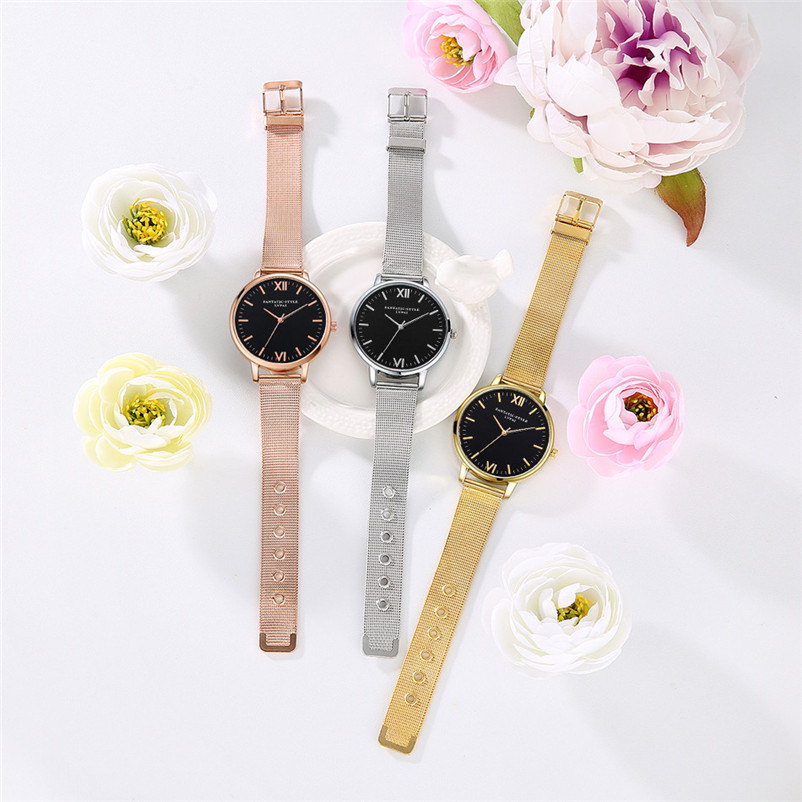 2018 High Quality Women's watches brand luxury fashion ladies watch Quartz Wristwatch Clock Ladies Dress Watches Reloj J27#N (7)