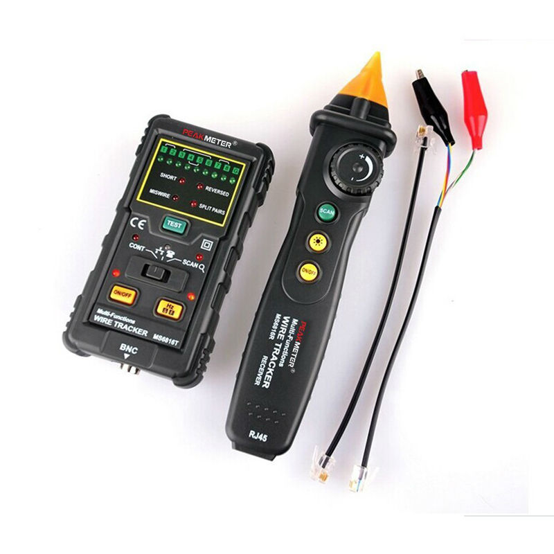 MS6816 Cable Wire Tracker Telephone Line DC Level Network Tester Meter For Tele communications Networking Tools<br><br>Aliexpress