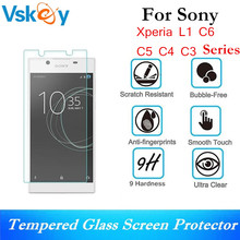 Buy VSKEY 20pcs 2.5D 0.3mm Tempered Glass Sony Xperia L1 C6 C5 C4 C3 E4 35 Screen Protector Protective Glass Film for $11.78 in AliExpress store