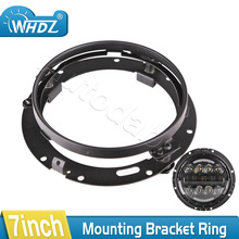 1pc Mounting Bracket Ring Mount Brackets 7 Inch Round Headlight Motorcycle For Harley Davidson Off Road Jeep Wrangler JK Hummer
