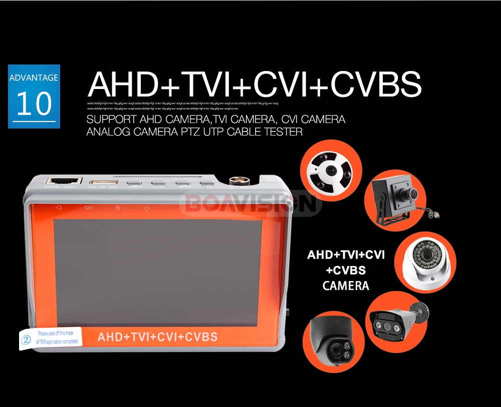 11 ahd camera tester