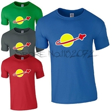 LEGO CLASSIC SPACE T-SHIRT - Retro Sheldon Cooper Fun Mens Kids Cool Logo Top(China)