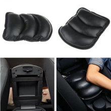 Car Armrest Console Pad Cover Cushion Support Box Armrest Top Mat Liner For VW Benz Audi Mazda Hyundai Nissan Chevrolet(China)