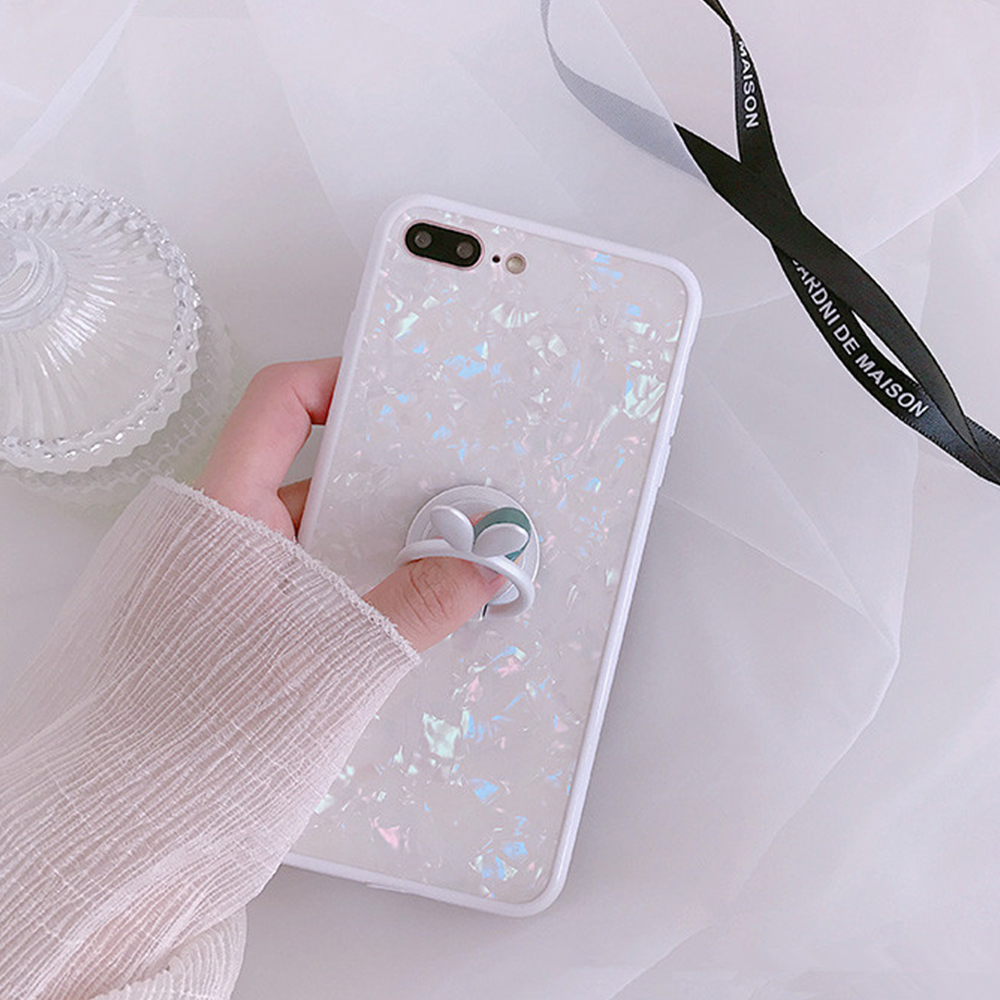 Heyytle Kickstand Phone Stand Holder Cover For Apple iPhone X 8 7 6S 6 Plus Case Shell Cute Fantasy Soft TPU Back Cover Cases 5