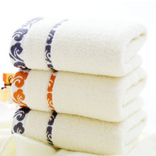 34*75cm Embroidered Cotton Terry Hand Towels for Adults,Plain Soft Cheap Quality Face Bathroom Hand Towels,Toallas Algodon,T133
