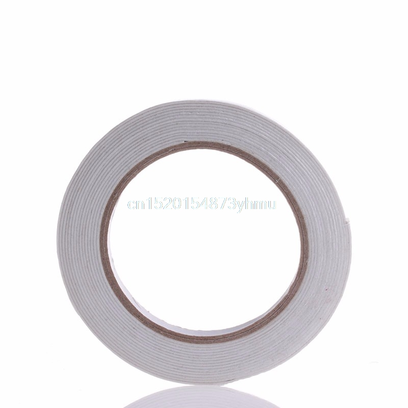 5m Double Sided Strong Sticky Self Adhesive Foam Tape Mounting Fixing Pad Elegant Tape #L057# new hot