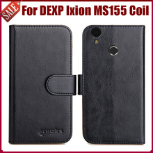 Hot Sale! DEXP Ixion MS155 Coil Case New Arrival 6 Colors High Quality Flip Leather Protective Phone Cover Bag