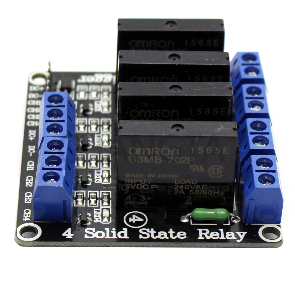 Detail Feedback Questions About 1 2 4 Channel 5v Dc Relay Module Power Solid State Relays Connect Negative Ch Signal Triggering End Low Level Trigger Effective Note Must Be Voltage And Need To Consistent
