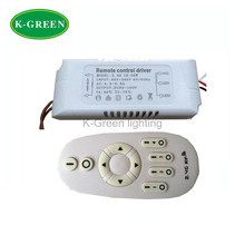 1X Hight quality 95-265V input 18-28W 2.4G RF wireless dimmable constant voltage led driver with remote controller free shipping
