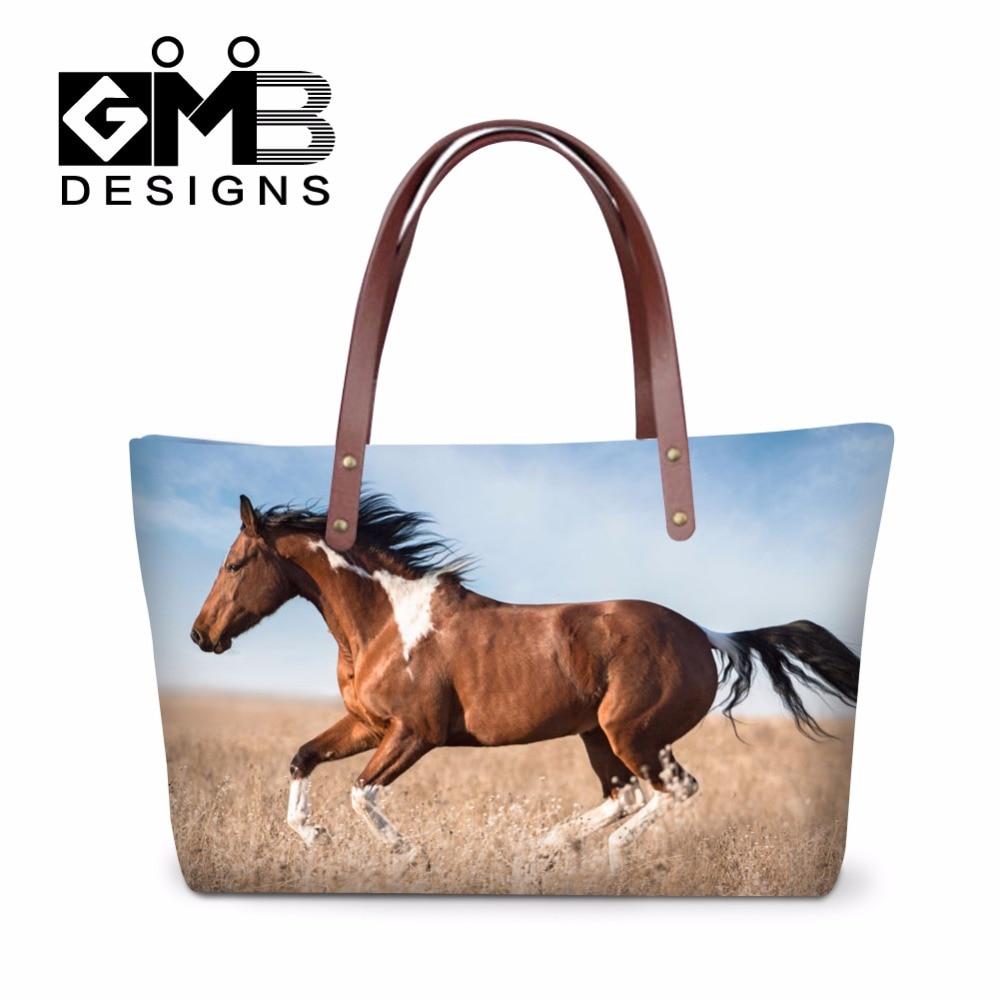 Designer tote handbags on sale Best Summer Shoulder bags Horse Printed Large handbag organizers for Ladies Women Casual Bags<br><br>Aliexpress