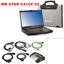 CF52 + MB Star C4 SD Connect + SSD 2015.09 Xentry Diagnostics System Compact 4 Mercedes Diagnosis Multiplexer For Benz Diagnose(China)