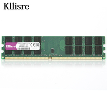 Kllisre DDR2 4GB Ram 800MHz PC2-6400 Desktop PC DIMM Memory 240 pins For AMD System High Compatible