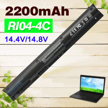 14.4v 2200mAh Laptop Battery for HP RI04 RI06XL HSTNN-Q97C HSTNN-Q94C HSTNN-DB7B HSTNN-PB6Q for ProBook 450 455 470 G3 Series(China)