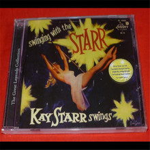DY-01 new CD seal: Swingin 'with Kay Starr by Kay Starr - US version CD light disk [free shipping]