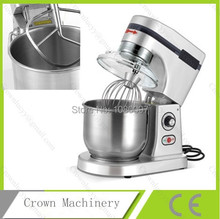 5L donut pasta mixer/electric dough mixer/dough kneading machine /food mixer(China)