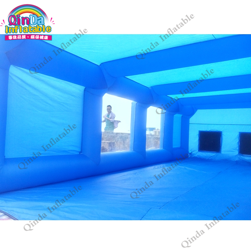 inflatable spray booth15