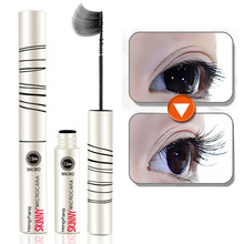 1PC Professional 3D Black Volume Curling Mascara Makeup Waterproof Lash Extension Thick Lengthening Mascara Cosmetics For Eyes(China)