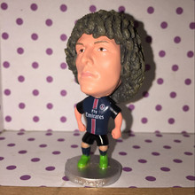 Soccerwe 6.5 cm Height Resin Football Doll PSG 2015-16 Season 32 David Luiz Figure Collections Gift(China)