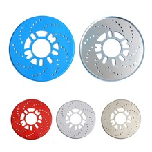 2PCS 4 Colors Automotive Wheel Disc Brake Cover for Car Modification Brakes Sheet Auto Wheels Plate Rear Drum Brakes