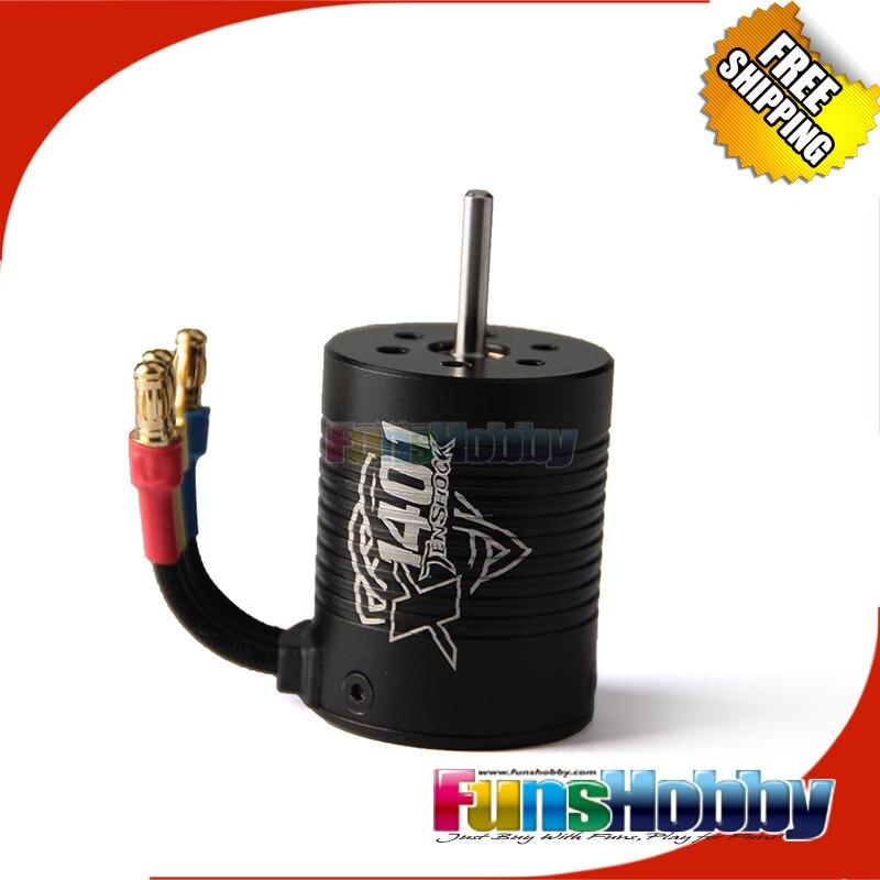Tenshock 1/14 4 pole Buggy Off Road RC Micro Brushless Motor.TS-X1401/4150KV/5150KV /3850KV/4850KV Tacon LC Racing Free Shipping<br>
