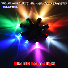48 Pcs Mixed Colors LED Balloons Multicolor Screwed Ball Lights Christmas Decoration Wedding Party Supplies Happy Birthday