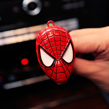 Spider Man Car outlet perfume original car-styling auto perfumes Fragrance Luxury Car Air Freshener Conditioning Vent Clip