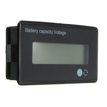 12V 24V 36V 48V LCD Acid Lead Lithium Battery Capacity Indicator Digital Voltmeter Voltage Tester adjustable voltage