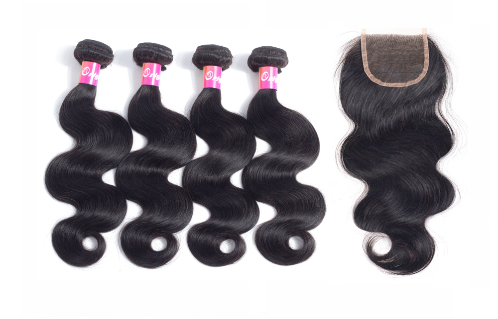 Virgin hair bundles with closure virgin hair bundles body wave with closure virgin hair bundles with closure suppliers Originea 4 Bundles with Closure virgin Hair Peruvian Body Wave with Closure 100% Human Hair Lace Closure with Bundles