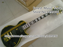 Hot Selling Limited Edition Aged Metallica James Hetfield Iron ESP Electric Guitar From China Factory Free Shipping