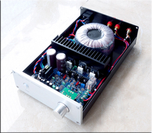 A3 220V full symmetry FET amplifier 150W+150W 8ohm IRFP240 IRFP9240 SNR 95db completed in case free shipping(China)