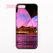 tough cover case for iphone 4 4s 5 5s 5c se 6 6S 7 Plus iPod Touch cases classy Sydney Opera House landscape pattern Australia