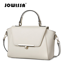 JOWISSA Designer Leather Women Handbags Female Shoulder Bags Clutches Bags Fashion Ladies's Tote Bags For Women Messenger Bags(China)