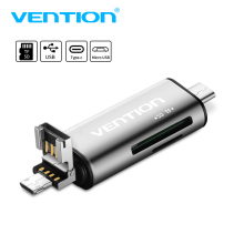 SD Card Adapter USB C otg Type-c Card Reader Smart TF Micro SD Card Reader USB 2.0 Micro USB SD micro sd to usb 2.0 adapter Multi Memory Card Reader(China)