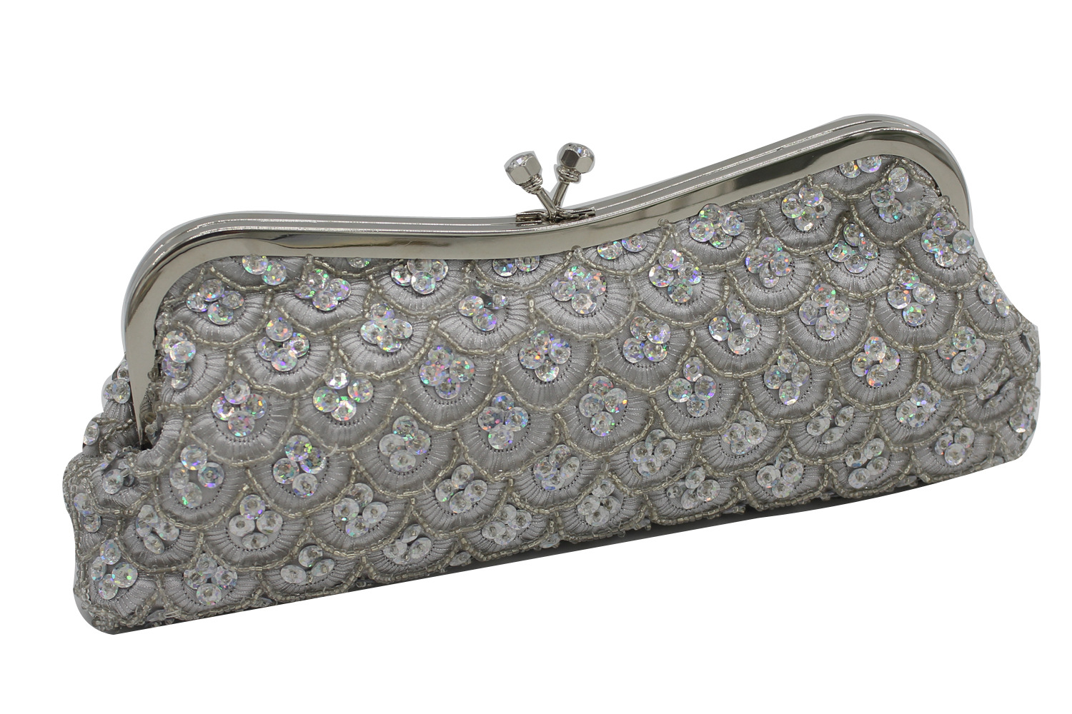 The New Women Clutch Evening Bags Beads Embroidered Bride Cheongsam For Party Day Clutches Ladies Hand Bag<br>