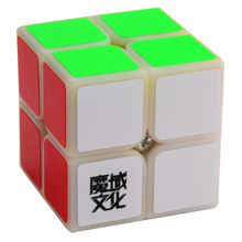 2017 Brand New MoYu LingPo 50mm 2x2x2 Puzzle Magic Cube Speed Cubes Educational Toy Special Toys(China)