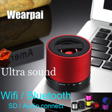 Original Wearpai variety of color super sound effects heavy bass bluetooth speaker hand free with FM function bluetooth speaker