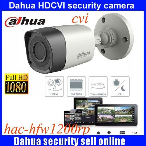 DAHUA HDCVI 1080P Bullet Camera 1/2.72Megapixel CMOS 1080P IR 20M IP67 HAC-HFW1200RM security camera DH-HAC-HFW1200RM camera<br>
