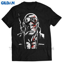 Tee4U Fashion Classic Short Sleeve Mad World Jack Cayman Casual Crew Neck Tee Shirts For Men(China)