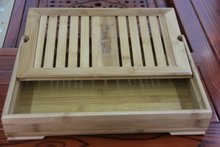 Bamboo tea tray bamboo tea sets Pay attention to size 35cm*23cm*6.5cm medium model