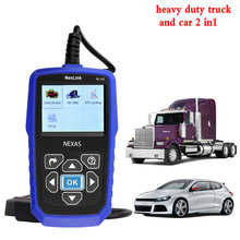 best heavy duty truck automotive diagnostic scanner NexLink NL102 diesel engine diagnostic tools  for mercedes diagnostic tool