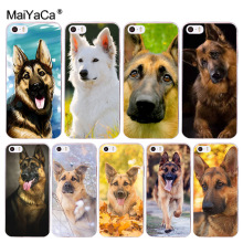 Buy MaiYaCa german shepherd dog Coque Phone Case Apple iPhone 8 7 6 6S Plus X 5 5S SE 5C 4 4S Cover for $1.35 in AliExpress store