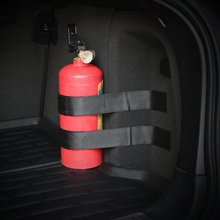 Auto Car Trunk Receive Store Content Bag Storage Network For Toyota For Ford For Skoda For Volkswagen For Seat Fire extinguisher(China)