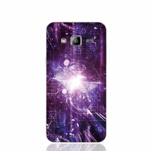 23432 space violet cell phone case cover for Samsung Galaxy J1 ACE J5 2016 J7 N9150