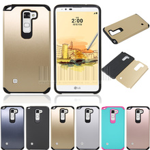 Dual Layer Slim Hybrid Shockproof Armor Case Hard Protective Cover For LG Stylus 2/G Stylo 2/X Power/X Style/V20/K8/K7/G3 Stylus