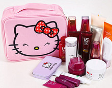 New Hello kitty Waterproof Travel bag make up bag Case yey-0214-4