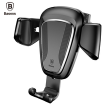 Baseus Phone Car Holder For iPhone 7 6 Samsung S8 Car Air Vent Mount Mobile Phone Holder Stand Soporte Movil Support Cellular
