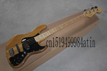 Free Shipping New Arrival Baixo F Marcus Miller Signature Jazz Bass 4 Strings Natural Color Bass Guitar with case  @19