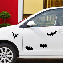 Variety Batman Car Styling Reflective Car Sticker Cover Scratches Decal For Volkswagen Skoda Golf Polo BMW Mercedes Renault Audi(China)