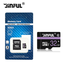2017 Crazy Hot Binful micro sd card 4GB 8GB 16GB 32GB 64GB 128GB flash memory card Microsd card TF card for Phone/Tablet/Camera(China)
