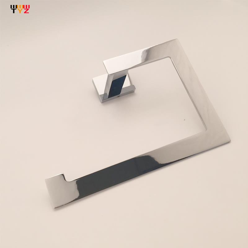 Towel Rack Bathroom Accessories House Ornamentation Copper Towel Ring Dual-Purpose Toilet Paper Holder<br><br>Aliexpress